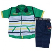 Kids dresses baby clothing boys Shirt Shorts and Jacket combo baba suit