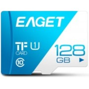 Eaget Premium 128 GB MicroSD Card Class 10 100 MB/s Memory Card(With Adapter)