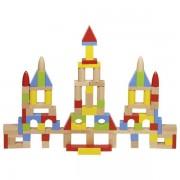 Set Cuburi de constructie, 100 piese