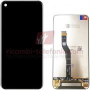 Huawei (Compatibile - Grado A) - Display per Huawei Nova 4 (Compat. Grado A - Bright Black - Senza frame)