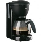 Cafetiera Braun CafeHouse Pure Aroma Plus KF 560, 1100 W, 10 Cesti, Anti-picurare, Negru, 634454