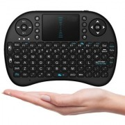 Kartik Mini 2.4Ghz Wireless Touchpad Keyboard with Mouse for All Android/iOS Devices (Color May Vary)