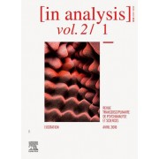 [GROUPE] ELSEVIER MASSON In Analysis