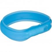 TRIXIE USB Flash Light Band L-XL 70 cm Blue 12672