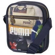 Puma Borsa Campus Portable, Taglia: Unica, Unisex, Nero, 073655 001