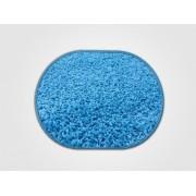 Vopi koberce Kusový koberec Color shaggy modrý ovál - 80x120 cm