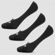 MP Essentials Men's Invisible Socks - Black (3 Pack) - UK 9-12