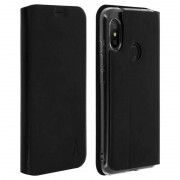 Akashi Funda Billetera Negra para Xiaomi Mi A2 Lite