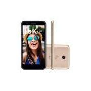 Smartphone LG K11 Alpha Dourado 16GB Câmera 8MP 4G LMX410BTW