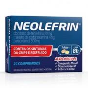 Neolefrin 20 comprimidos neo quimica