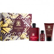 Trussardi Uomo The Red lote de regalo II. eau de toilette 100 ml + gel de ducha 100 ml + jabón 50 ml