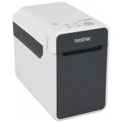 Brother TD-2120N Termica diretta 203 x 203DPI Nero, Grigio stampante per etichette (CD)