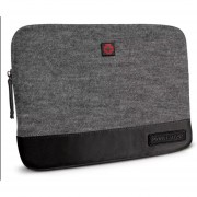 "Funda Para Laptop De 13"" Swiss Brand Gleather Toiletry Kt-Gris"