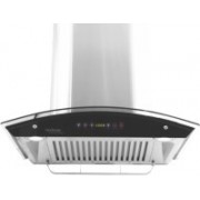Hindware Cleo 60 - Auto Clean Hood Wall Mounted Chimney(Brush Silver 1200)