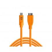 Tether Tools TetherPro USB-C to 3.0 Micro-B 4,6m oranje