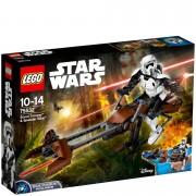 Lego Star Wars: Scout Trooper & Speeder Bike (75532)