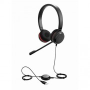 Headset Jabra Evolve 30 II, duo, USB/Jack, MS
