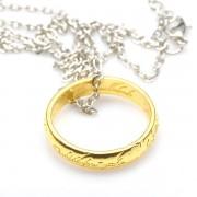 Gyűrűk Ura - Az Egy Gyűrű nyaklánccal