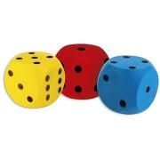 Androni Kocka, puha - mérete 16 cm, sárga