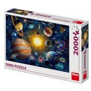 PUZZLE - SISTEMUL SOLAR (2000 PIESE) - DINO TOYS (561168)