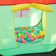 Excelvan 2 Maison Tentes Jointif Pliable Pour Intérieur Ou Extérieur Jouer Tente Avec Balle Océan
