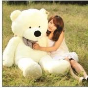 OH BABY 5 feet White teddy bear soft toy valentine love birthday gift SE-ST-182