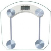 CrackaDeal 8mm square personal scale Weighing Scale(Transperent Glass)