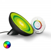Philips Living Colors Bloom LED Table Light Black