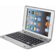 Husa Carcasa OEM cu Tastatura Bluetooth pentru Ipad Mini 1, 2, 3 Argintiu