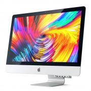 Satechi Aluminium USB-C Clamp Hub - алуминиев USB-C хъб и четец за SD/microSD карти за iMac Pro 2017 (сребрист)
