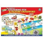 Maharaja Colouring Fun & Picture Crossword