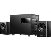 Impex Micro plus Bluetooth Home Audio Speaker (Black 2.1 Channel)