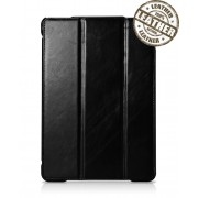 IcareR iPad Air Smart Cover Leer Zwart