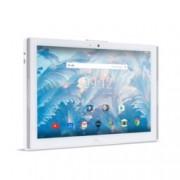 """Таблет Acer Iconia One 10 (B3-A42-K8B6)(бял), LTE, 10.1"""" (25.65 cm) WXGA дисплей, четириядрен MT8735 1.3 GHz, 2GB, 16GB eMMC (+ microSD слот), 5.0 & 2.0 Mpix камера, Android 7.0, 550 kg"""