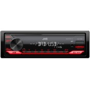 JVC Kd-X172db Autoradio 1 Din Radio Dab Lettore Mp3 Usb Direct Frontale Potenza 200 Watt - Kd-X172db