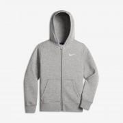Sweatà capuche Nike Brushed Fleece Full-Zip pour Garçon (8-15 ans) - Gris