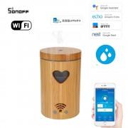 Wifi inteligentný ultrazvukový aróma difuzér s LED srdiečko