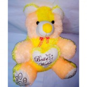 MS SONS & GIFT ARTS YELLOW TEDDY BIG (SET OF 1) Soft Stuffed Spongy Huggable Cute Teddy Bear Birthday Gifts Girls Lovable Special Gift High Quality Birthday/Valentine/Wedding/Friendship/Car Dcor/Hanging/General