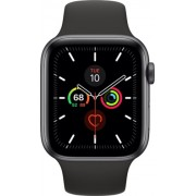 Apple Watch Series 5 44mm (GPS Only) Aluminium Case Grey Sport Band Negru