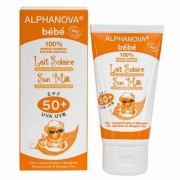 Alphanova Sun Sun zonnebrand milk baby SPF50 zonder parfum 50g
