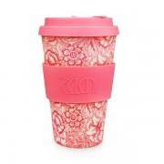Ecoffee Take Away Mugg Rosa Blomman