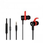 Слушалки А4tech MK820, In-Ear, Черен/Червен, A4-HEAD-MK820-BK/RED