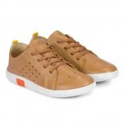 Pantofi Baieti Bibi Walk Baby New Brandy