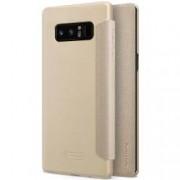 Husa Flip Book Nillkin Sparkle Leather pentru Samsung Galaxy Note 8 N950 golden
