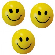 GENERIC Stress Relief Smiley Soft Ball Set of 3 PC