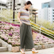 you rari ボリュームガウチョパンツ【QVC】40代・50代レディースファッション