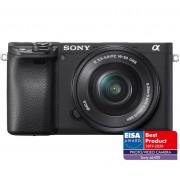 Pachet Sony Kit Aparat Foto Mirrorless Alpha A6400 24.2 MP cu Obiectiv 16 50mm Manfrotto GPM