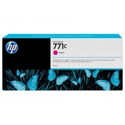 HP 771C Magenta Designjet Ink Cartridge, 775ml (B6Y08A)