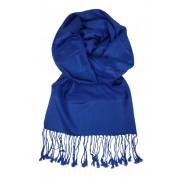 Milano elegantní jednobarevný šál modrá