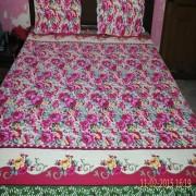 flowers 3d print bedsheet